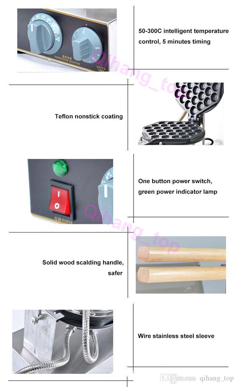 Aperatif makineleri CE Belgesi otomatik ticari yumurta waffle makinesi / 110 v 220 v elektrikli gözleme yumurta yapma makinesi fiyat
