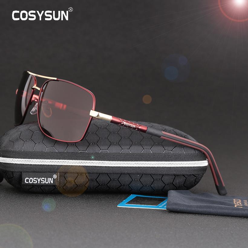 Compre 2017 COSYSUN Marca Hombres Gafas De Sol HD Polarizadas Gafas De Sol  Hombres Conducir Para Hombre Recubrimiento Espejo Gafas Oculos Masculino  0042 A ... 1f466eb3f847