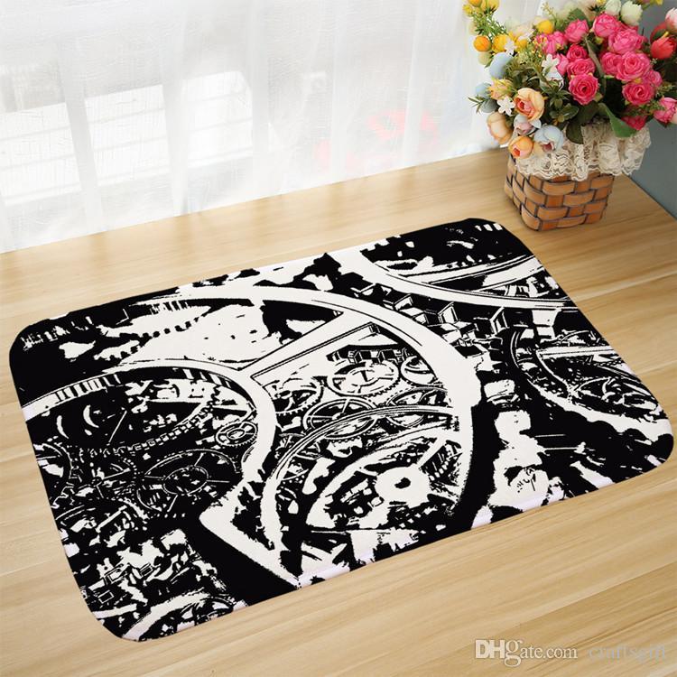 Door Mat Bathroom Rug Bedtoom Carpet Bath Mats Rug Non-Slip Ancient sailing boat