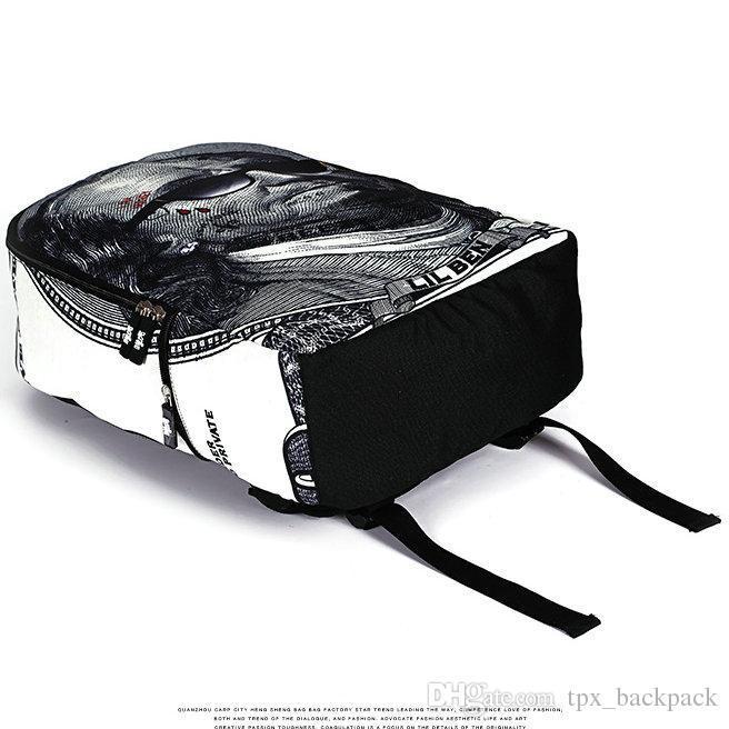 Engrave lion backpack Retro pattern day pack Vintage school bag Casual packsack Quality rucksack Sport schoolbag Outdoor daypack