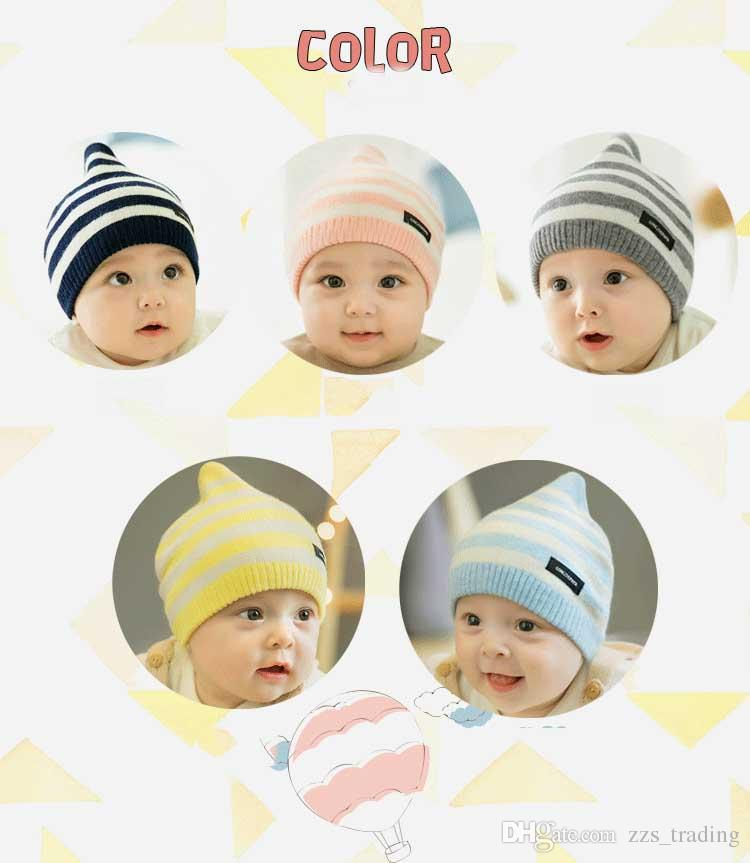 6263ef37c Winter spring Baby Beanie Boy Girls Soft Hat Children Winter Warm Kids  Knitted Cotton Beanie Hat For Toddler Baby Girl Boy caps
