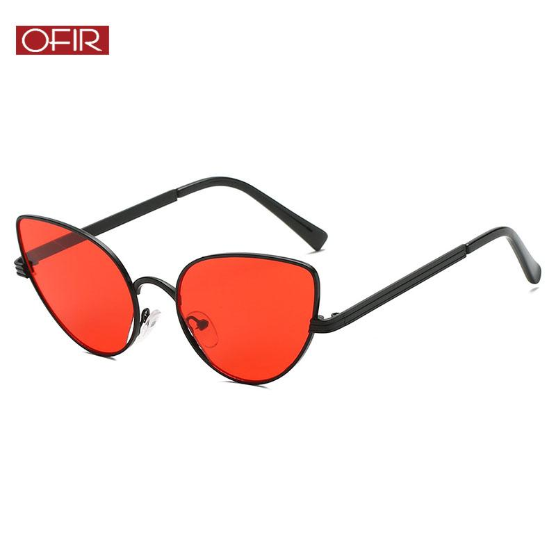 dc8e2d6449c0 Retro Cat Eye Sunglasses For Women Ocean Lens Sun Glasses Fashion ...
