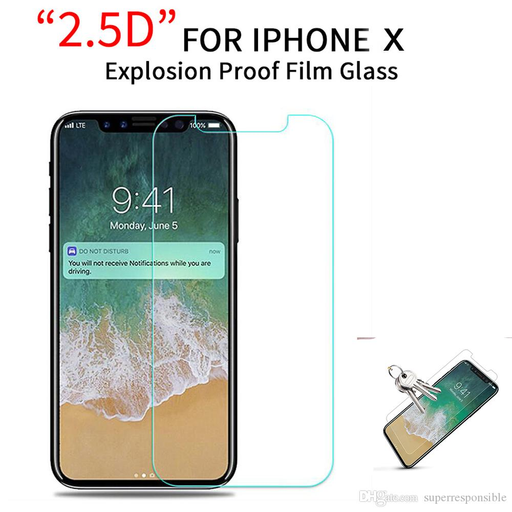 Vitog Tempered Glass For iPhone 11 pro max X XS MAX XR Screen Protector Film For iPhone 7 8 Plus X Glass Protective