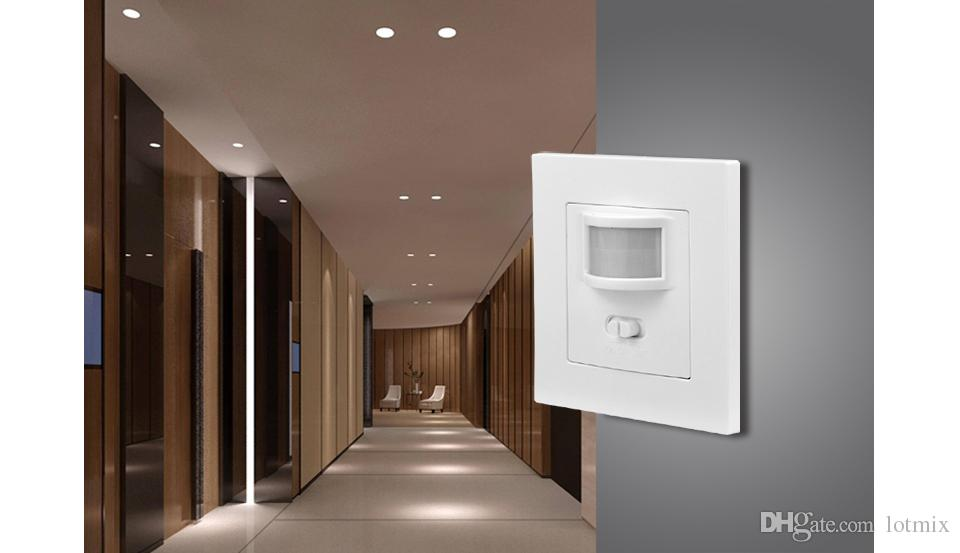 AC 110V - 240V PIR Sensor IR Infrared Motion Sensor light PIR Switch Recessed Wall Module Move Induction