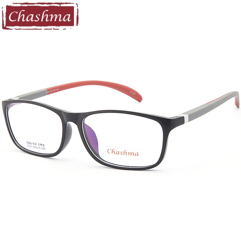 0e53ea42075 2019 Chashma Brand Sport Style TR 90 Eyeglasses Women And Men Optical  Glasses Frame Flexible Quality Prescription Frames From Value333