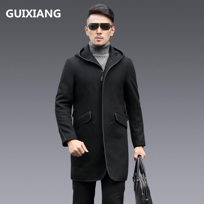 2019 2017 Winter Coats MenS Fashion Woolen Trench Coat Jacket Casual Jackets Wool Business Classic Men Overcoat From Begonier