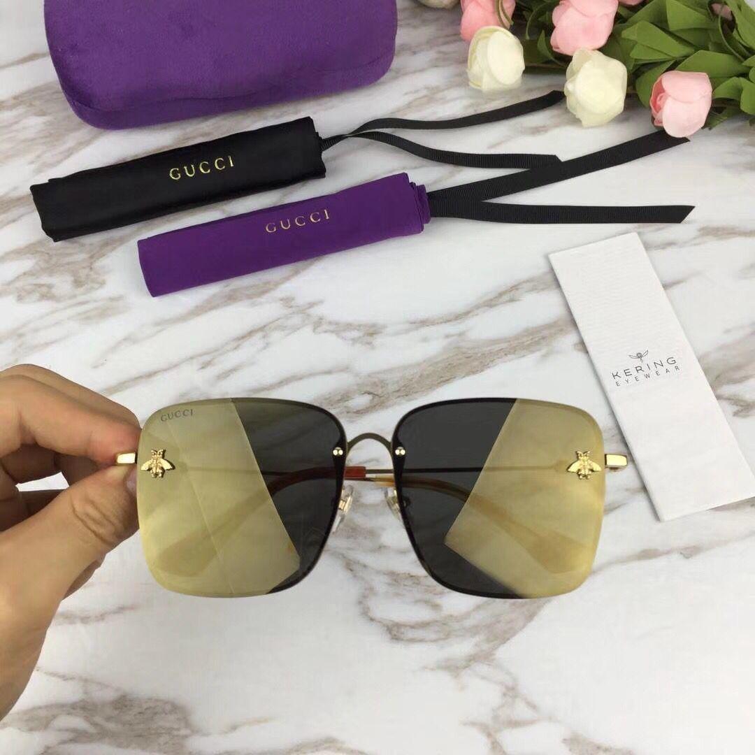 e136c3df8e8d New Arrivals 2019 Fashion Cat Eye Sunglasses Women Frame Gradient ...