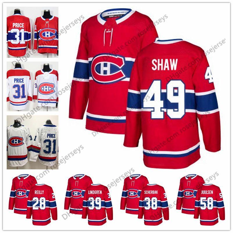 5fb9478dc Montreal Canadiens  49 Logan Shaw 38 Nikita Scherbak 28 Mike Reilly ...