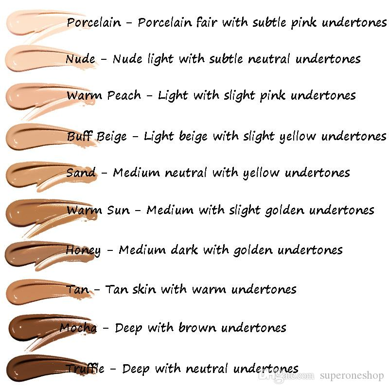 2018 New Brand Makeup Foundation PHOERA Matte Oil-contral Liquid foundation Concealer DHL