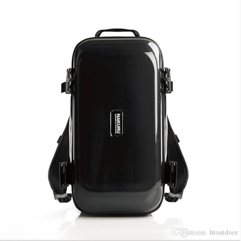 c31fbefdf855 22 Inch Men Women ABS PC Travel Luggage Bag Weekender Backpack Rucksack  Duffel Bag Outdoor Sport Gym Fitness Handbag