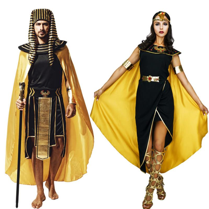Diy Costumes For Couples 2018: 2018 New Adult Couples Clothing Egyptian Pharaoh Egypt