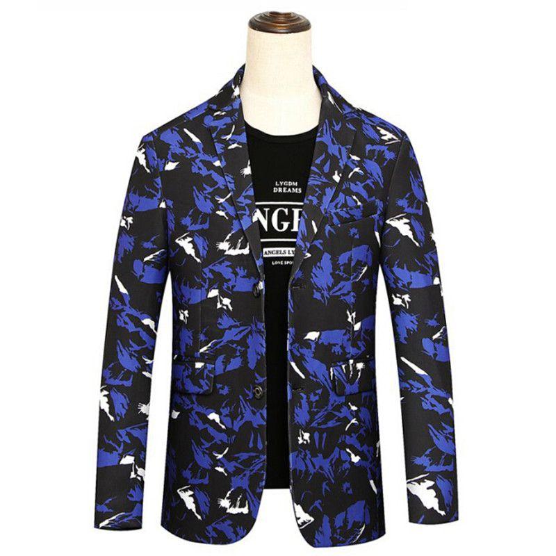 906b7a886ee Compre 2018 Chaquetas Para Hombres Chaqueta De Gran Tamaño L 8XL Azul Negro  Blanco Casual Elegante Hombres Populares Chaquetas De Caballero Noble De  Lujo A ...