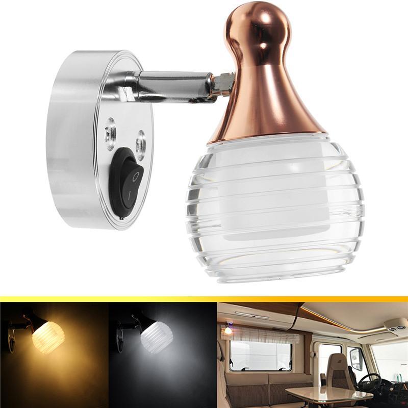 2018 4w Wall Lamp Led Spot Light Interior Reading Light Universal ...