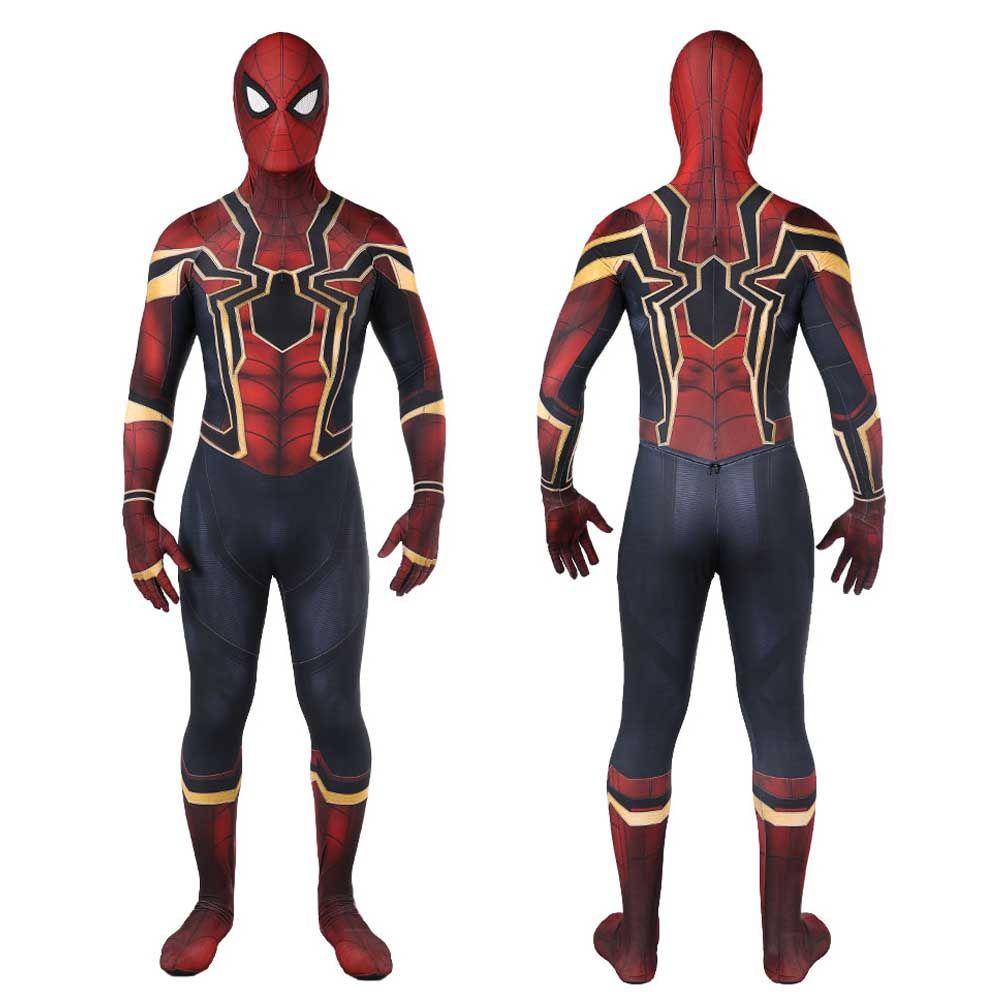 2018 New Spiderman Costume Kids Adult Avenger Infinity War Tom