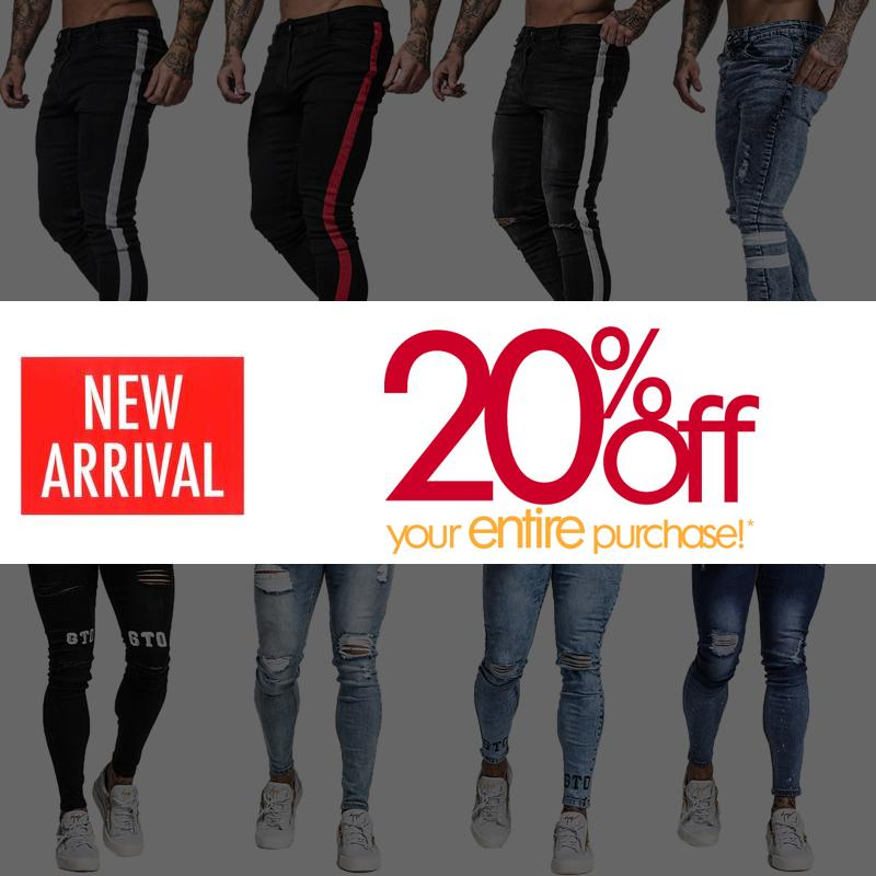1d29af55df47 2019 Gingtto Skinny Jeans For Men Super Spray On Stretch Comfy Soft  Lightweight Cotton Ankle Tight Men Jeans Slim Fit 2018 New Sale From  Cover3127