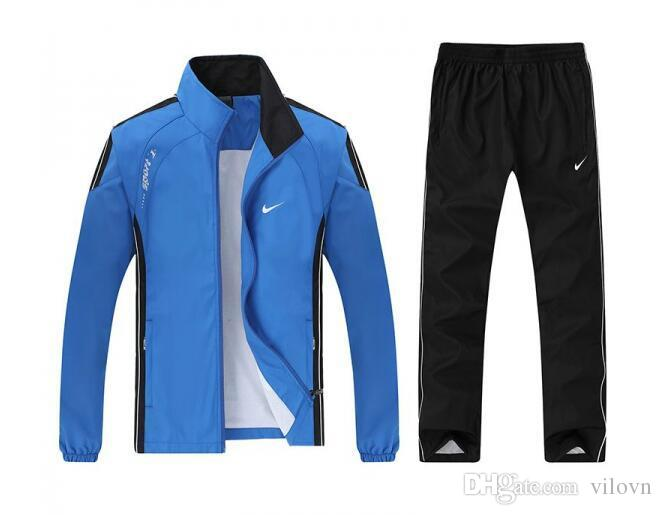 buy online 805bd bb338 NIKE 2018 Tracksuit Men Luxury Sweat Suits Brand Mens Tracksuits Jogger  Suits Jacket Pants Sets Sporting Suit Hip Hop Sweatshirts