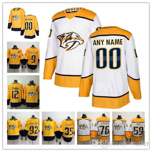 Custom Nashville Predators ANY NAME  NO JERSEYS Men Women Kids 12 ... 08572268a