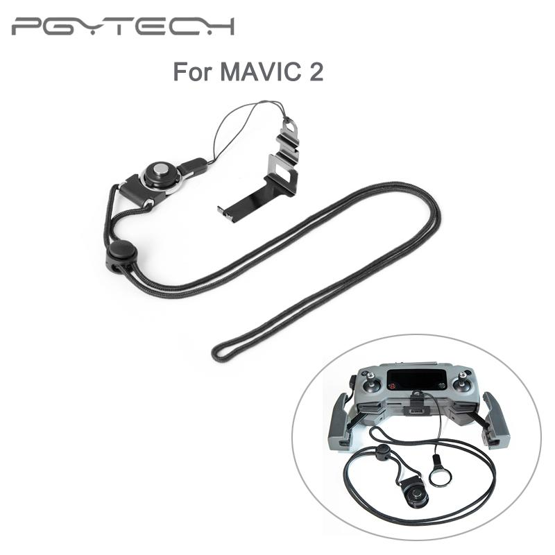 PGYTECH for DJI MAVIC 2 Remote Controller Clasp Lanyard Adjustable Neck Sling Drone Accessories Convenient and Portable