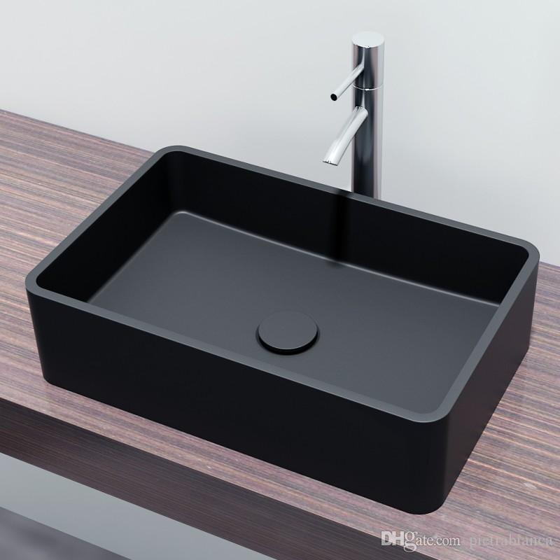 Solid Surface bathroom Basin Acrylic Resin Stone Table Top Sink Table Top Sink Counter Top Basin Corian Wash Basin (PB2012)
