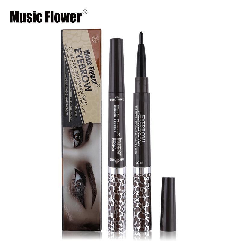 Beauty Essentials Beauty & Health Good Music Flower Gel Eye Liner Long-lasting Smudge-proof Black Eyeliner Cream Natural Make Up Blue Kajal Pencil Smoky Eyes Make Up Moderate Price