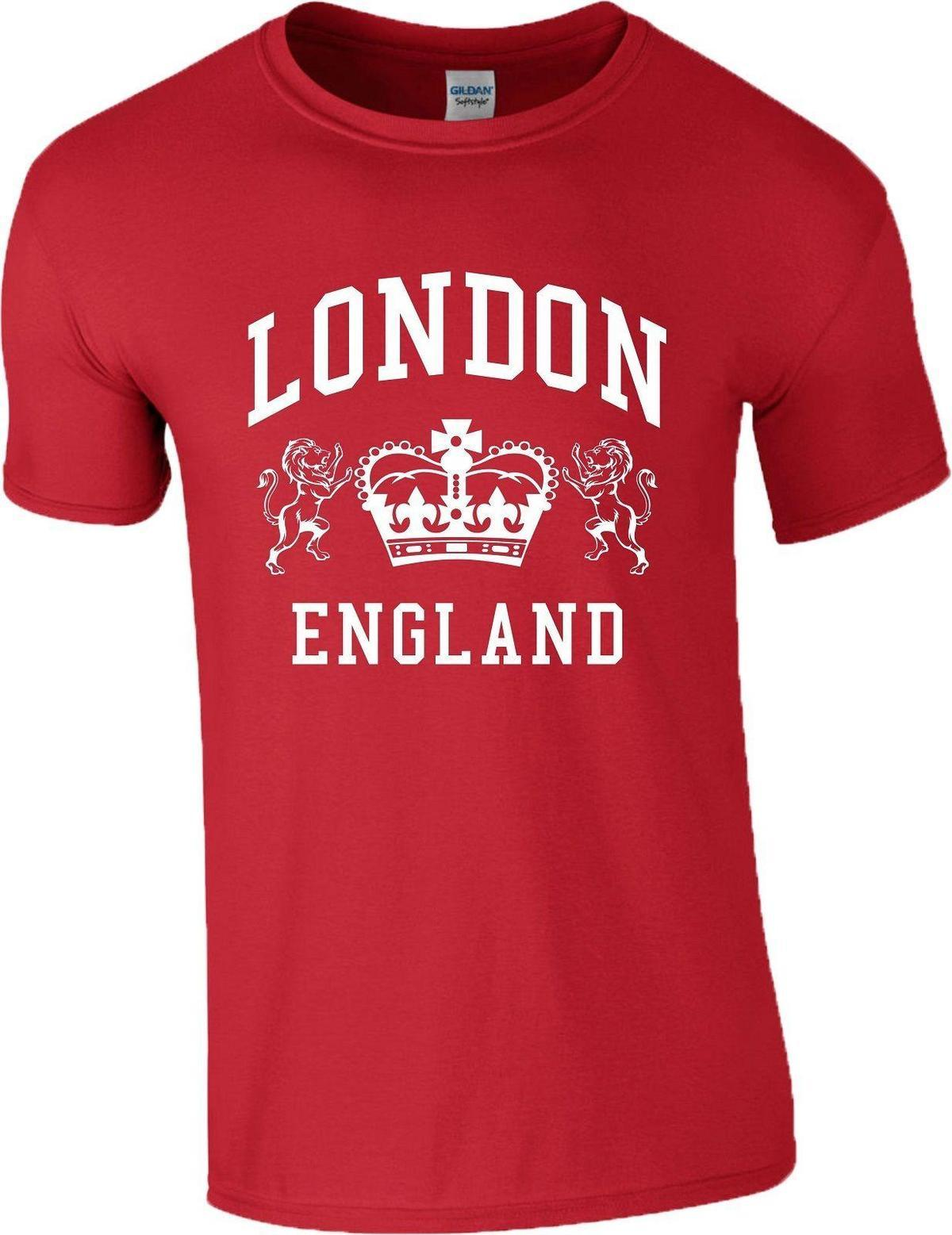 London England T Shirt Novelty Souvenir Tourist Holiday Birthday Gift Men Ladies Clever 10 From Amesion95 1208