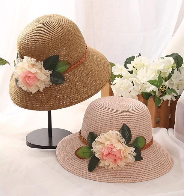 238d0cab5ae Wide Brim Summer Hats Straw Hats Church Hats Floppy Beach Hat Fitted Hat  Wide Brim Beach Hat For Ladies Women Sun Cap Suncreen Caps Mens Caps Crazy  Hats ...