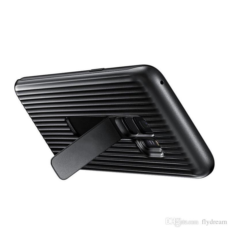 Moda Motomo spazzolato verticale TPU morbida custodia Samsung Galaxy S9, S9 Plus fibra di carbonio Ultra sottile silicone gel cellulare Cover posteriore della pelle
