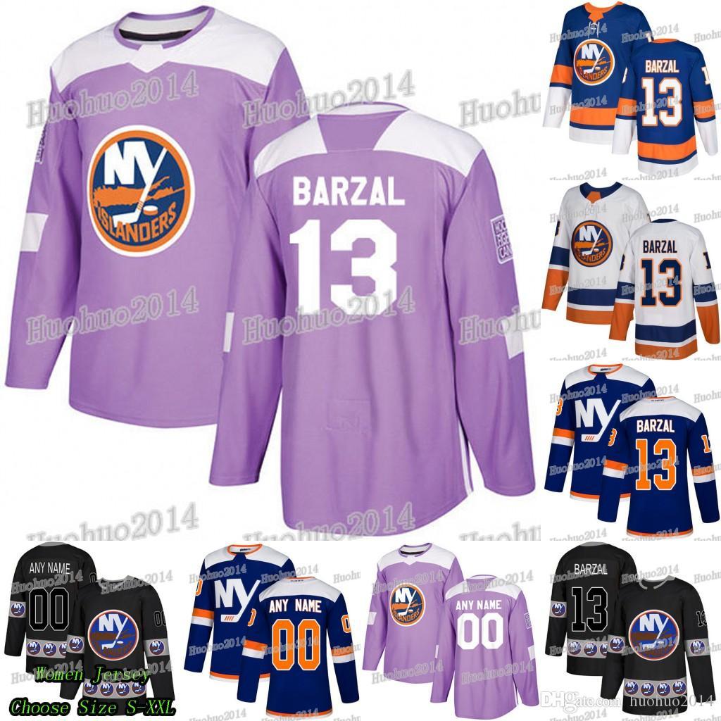 4e86f21c0 2019 2018 Hockey Fights Cancer New York Islanders Anders Lee Matt Martin  Leo Komarov Eberle Ryan Pulock Mathew Barzal Josh Bailey Jersey From  Huohuo2014