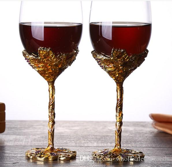 Red wine glass hot selling crystal clear red wine goblet set
