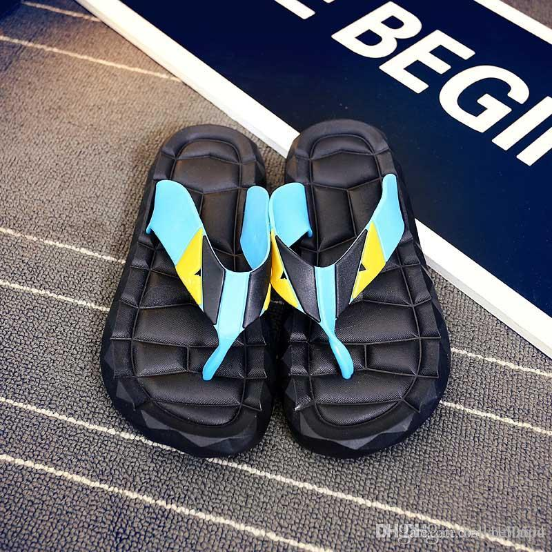 f3a970ac91b1 Good Quality Flip Flops Men Sandals Shoes For Casual Walking Beach Slides  EVA Massage Slippers Designer Flats Male Summer Mens Shoes Girls Boots  Wedges ...
