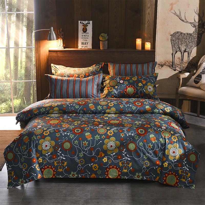 Queen Bedding Set Luxury Comforter Cover Double Bed Linen Bedclothes