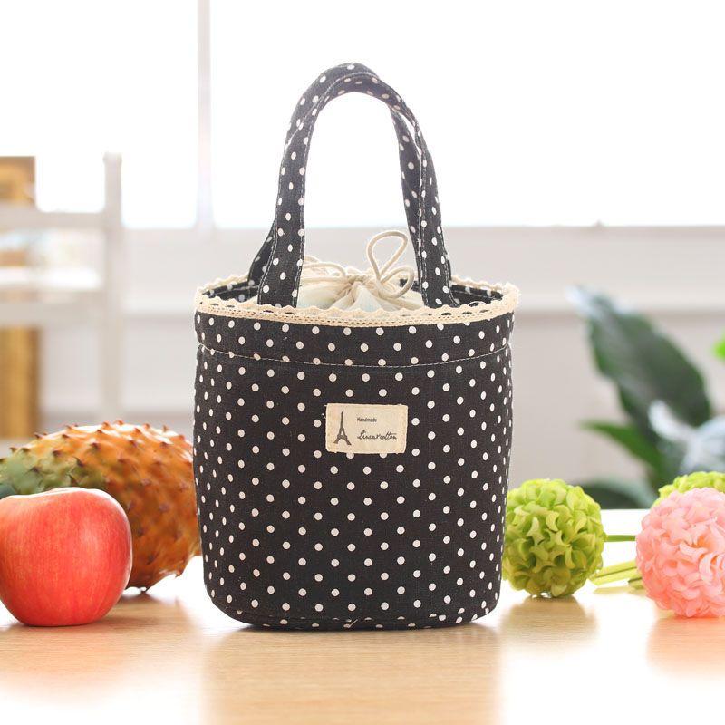 Fashion Lunch Box Storage Picnic Bag Lunch Box 2018 Portable Thermal ... d0e2a7157db1c