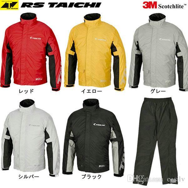 TAICHI RS-038 motocicletta impermeabile sport all'aria aperta cavaliere pantaloni da equitazione e cappotto giorno quotidiano giornata di pioggia vestiti buona impermeabil ...