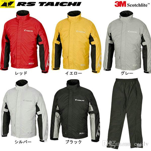 TAICHI RS-038 motorcycle raincoat outdoor sports knight riding pants and coat daily rain day ride clothes good waterproof effection raincoat