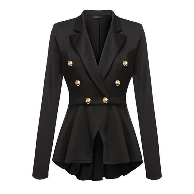 Neue Mode Dame Büro Blazer Solide Anzug Blazer Mantel Outwear Frühling Herbst Frauen Casual Lose Blazer Mantel Größe 34-40 Frauen Kleidung & Zubehör