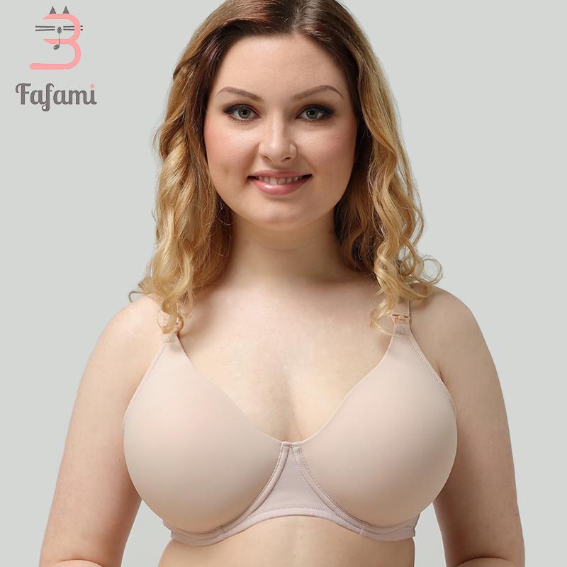 371ada19a Compre Plus Size Sutiã De Amamentação Maternidade Roupa De Maternidade Sutiã  De Amamentação Para Mulheres Grávidas Fio Livre Algodão Amament .