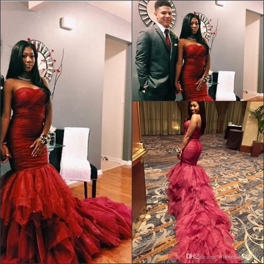Strapless Long Prom Dresses Neon