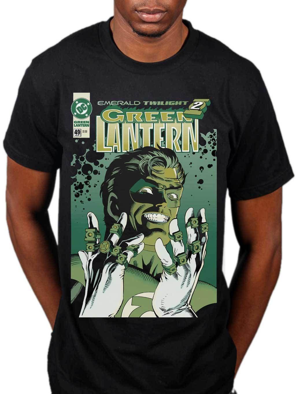 Official Green Lantern Emerald Twilight T Shirt Dc Comics Superhero Marvel Merch With Design It From Jackiegreen 1101