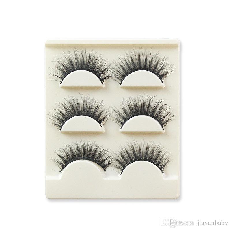 3D False eyelashes 16 Styles Handmade Beauty Thick Long Soft lashes Fake Eye Lashes Eyelash Sexy