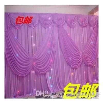 Hot High Quality Wedding Backdrop Curtain Angle Wings Sequined Cheap Wedding Decorations 6m*3m Cloth Background Scene Wedding Decor Supplies