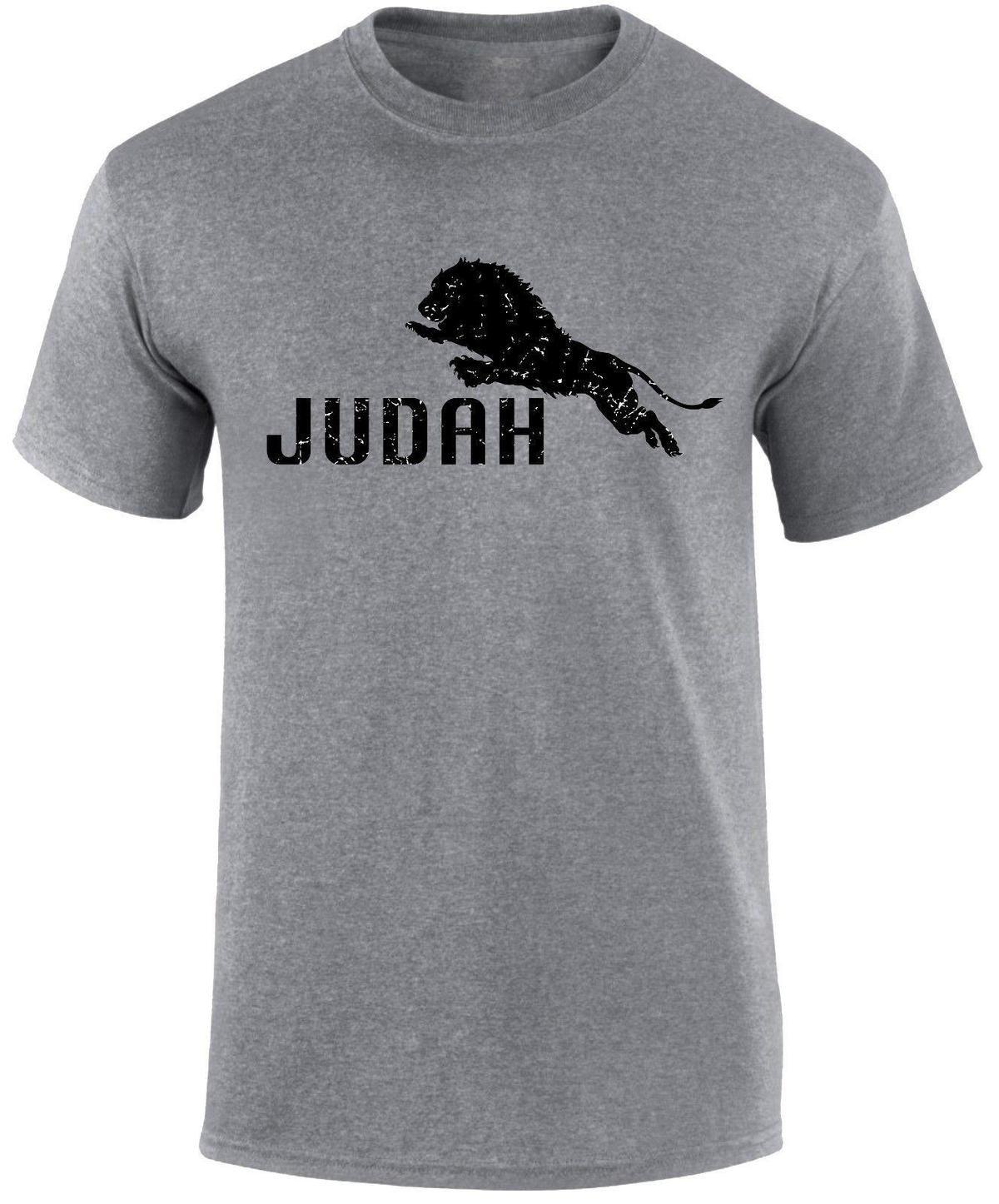 6504ae6f Jesus The Lion Of Judah Religious Gospel Slogan Jewish Christian Men T  Shirt Shirt T Shirt Tee From Yubin9, $14.67| DHgate.Com