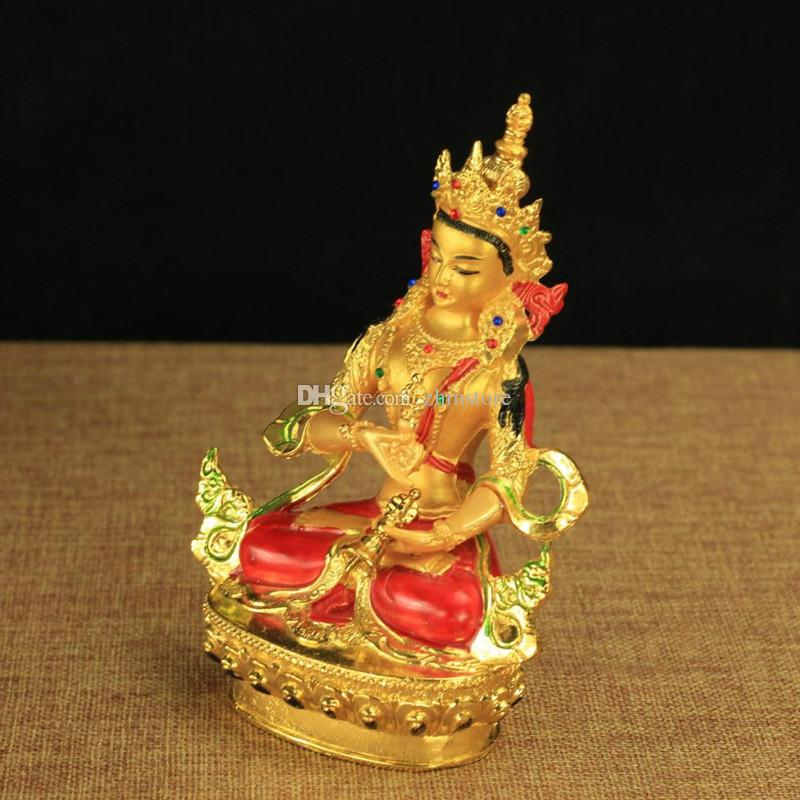 6 Inch Alloy Copper Statue-Buddhist Nepal Buddha Statue of Vajrasattva-Tantric Suppliers Home/Office Putting Decorations