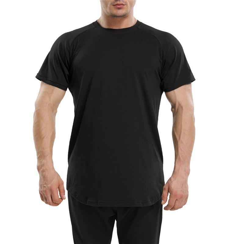 Compre Mens Ginásio Camisa Dry Fit Sportswear Correndo Roupas Homens Treino  Atlético Roupas Masculinas Moda Camisetas De Saleslisa 8afbb9d2f3026