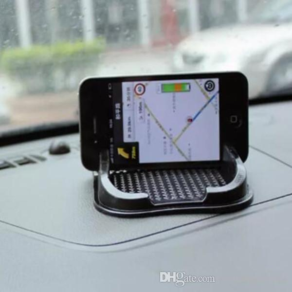 Carro Anti Slip pad De Borracha Móvel Sticky vara Dashboard Telefone Prateleira Tapete Antiderrapante Para GPS MP3