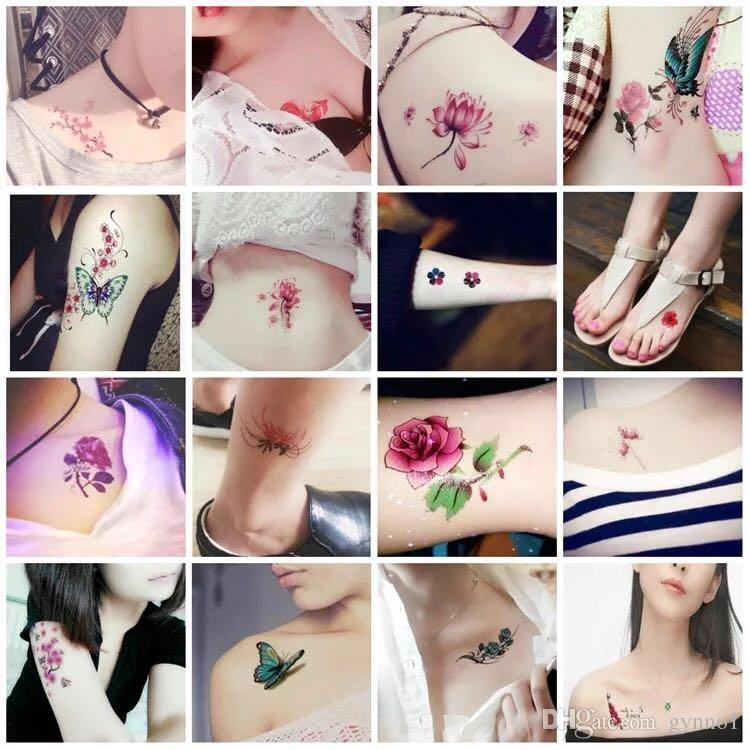 e9bdd22ecd626 ... Temporary Tattoo waterproof and durable men and women Korean small  fresh sexy tattoo 30 tattoo stickers ...