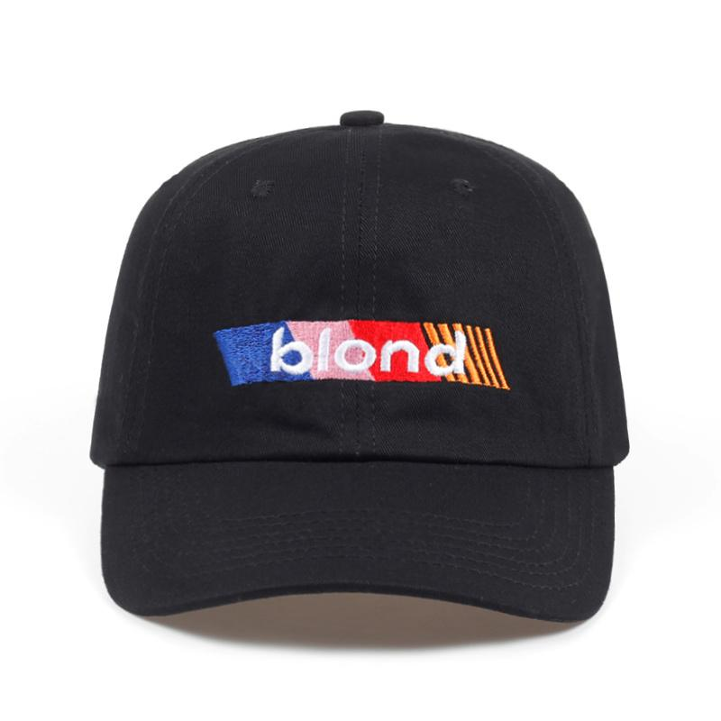2018 New Blond Frank Ocean Dad Hat Fashion Men Women Golf Cap ... 4c6e3be9bac