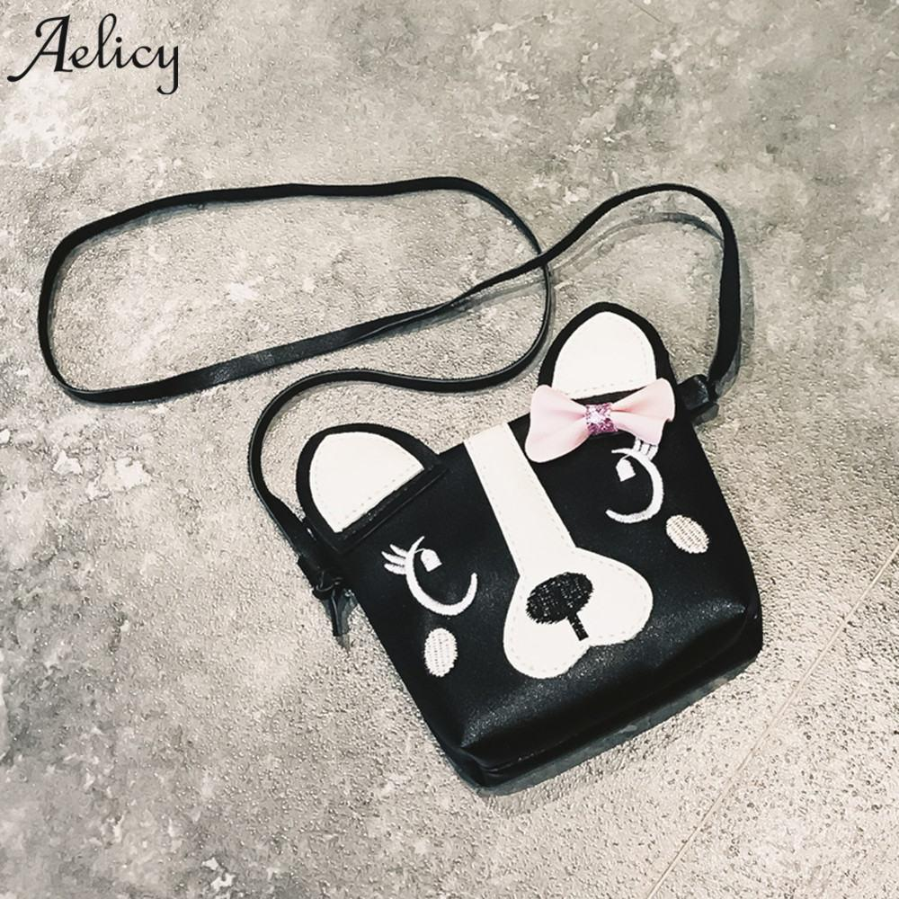 Aelicy Cute Dog Shape Children Shoulder Bag Fashion Girl Shoulder Messenger  Bags Baby PU Leather Crossbody Bags For Girls Leather Handbag Red Handbags  From ... aa630919f9fb6