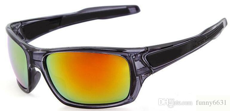 summer newest man Wind sunglasses Bicycle Glass NICE sports sunglasses Dazzle colour glasses driving glasses A++