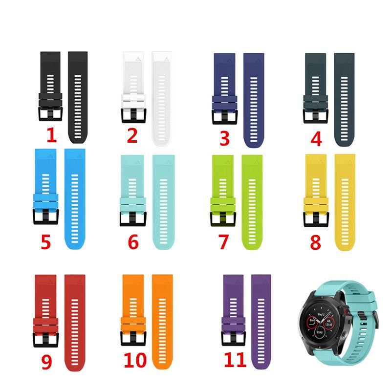 Bracelet de montre pour Garmin Fenix 5 5X 5S pour forerunner 935 Bracelet de montre GPS Fit Fit
