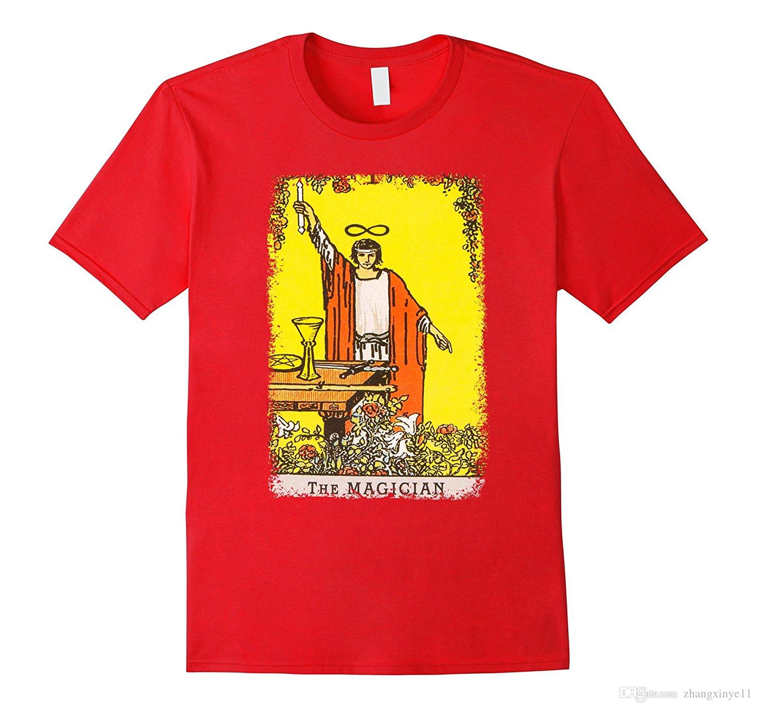 The Magician TAROT CARD SHIRT